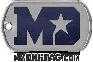 MyDogtag.com Large Dogtag Logo