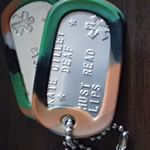 Medical Condition Dog Tags (Instagram)