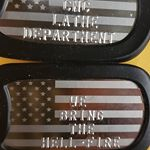 USA Patriotic Dog Tags (Instagram)