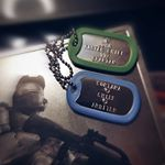 HALO Master Chief Dog Tags (Instagram)