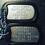 Battle Field Dog Tags (Instagram)
