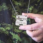 NATO Military Dog Tags (Instagram)