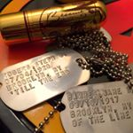 Captain America Dogtags on Instagram