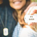 Fathers Day Dog Tags (Instagram)