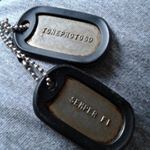 WWII Army Dog Tags 1944-46 on Instagram