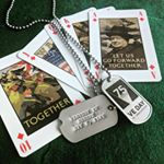 75th Anniversary of VE-Day commemorative Dog Tags (Instagram)