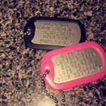 Sweetheart Dogtags on Instagram