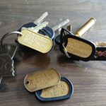 Keychain ID Tags (Instagram) on Instagram