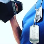Tough Guy Dog Tags for Men on Instagram