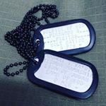 Christian Soldier Dog Tags (Instagram)