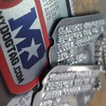 Notched WWII Style Dogtags on Instagram
