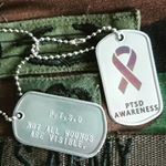 PTSD Dog Tags (Instagram)