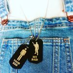 Your Dad, My Dad Dogtags (Instagram)