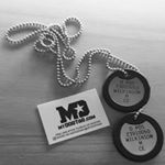 British Military Reproduction Laser Engraved Dog Tags (Instagram)