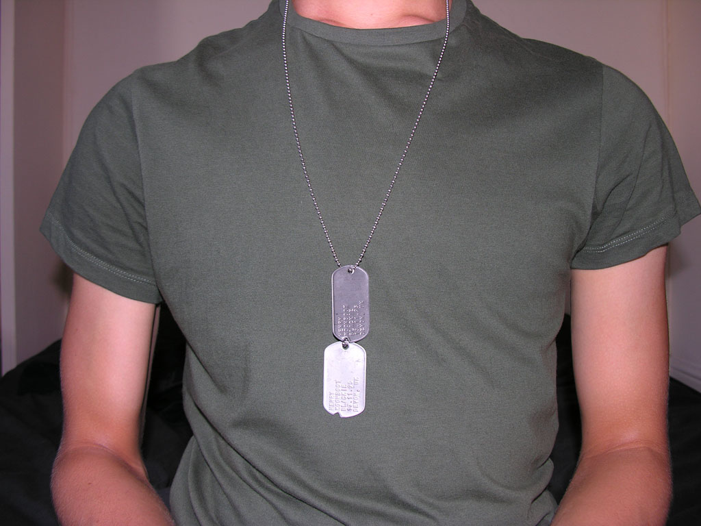 Military Dog Tags Generator - Customized ID Dogtags for ...