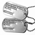 US Army Vietnam 67-68 Dog Tags