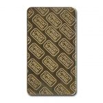 Novelty Gold Bullion Bar Backside