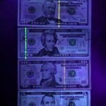 3-in-1 Laser Pointer / UV / LED Keychain counterfeit currency cash detection with ultraviolet light