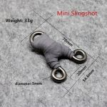 Mini Slingshot with dimensions