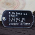 pluviophile dogtag