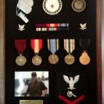 Military Shadowbox from Veteranspride.org