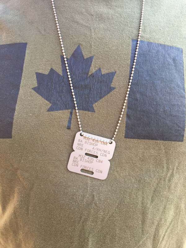 Canadian Forces ID Disc