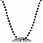 30 inch black ball chain