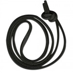 Black Long Suede Cord