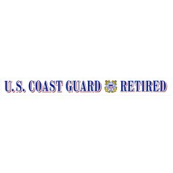 U.S. Coast Guard Retired Decal