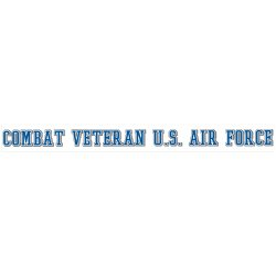 Combat Veteran USAF Decal