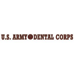 U.S. Army Dental Corps Decal