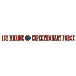 1st Marine Expeditionary Force Decal