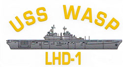 USS Wasp LHD-1 Decal