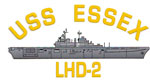 USS Essex LHD-2 Decal