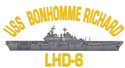 USS Bonhomme Richard LHD-6 Decal