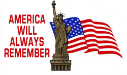 America Will Remember Decal