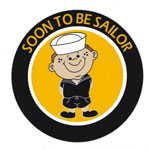 """Soon to be Sailor"" Decal"