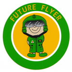 """Future Flyer"" Decal"