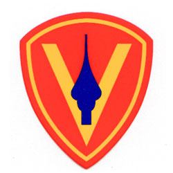 5th Marine Division Decal