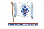 U.S. Coast Guard Flag Decal