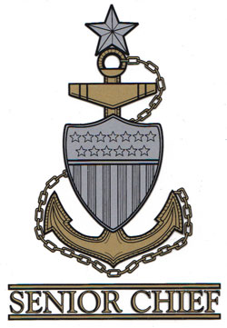 USCG Senior Chief Petty Officer Decal