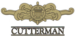 USCG Cutterman Officer Decal