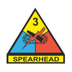 3rd Armored Division Decal