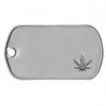 Weed Dogtag