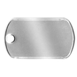 Mini Shiny Dog Tag