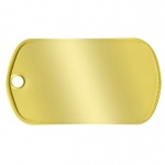 Brass Dogtag