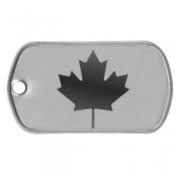 Canada Flag Dog Tag