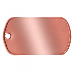 Copper Dog Tag