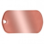 Copper Dogtag