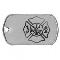 Maltese Cross Dog Tag